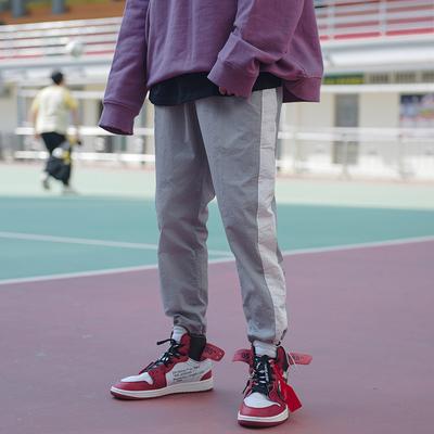 K269 潮流束脚裤 原宿嘻哈街头宽松街舞运动裤 低于68投诉 P48