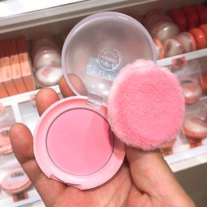 韩国采购 伊蒂之屋爱丽小屋可爱曲奇甜心腮红BE101裸妆胭脂带粉扑