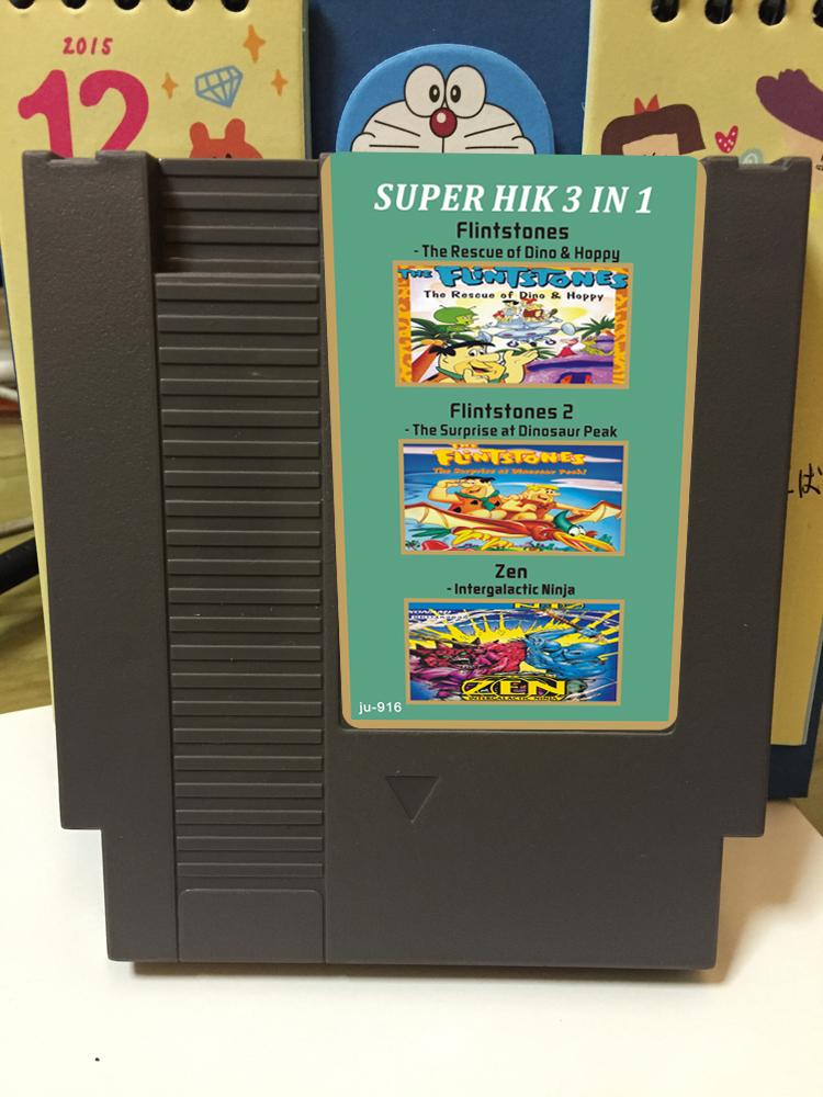 8位72pin NES游�蚩ㄊ��^族1.2�y河武士三合一