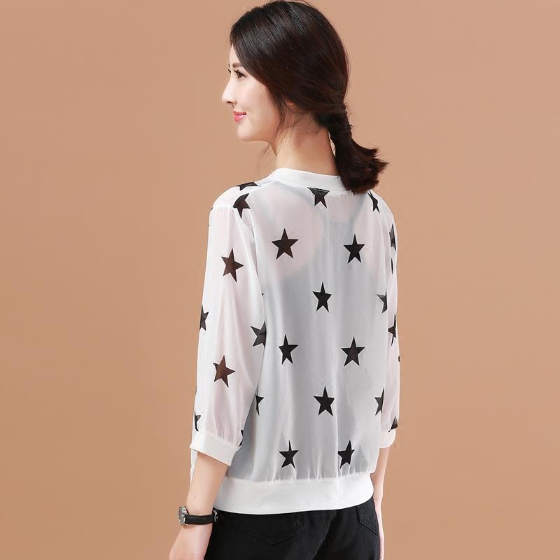 2018夏装欧货潮品牌防晒衣女装专柜正品唯品会蘑菇街薄七分袖外套