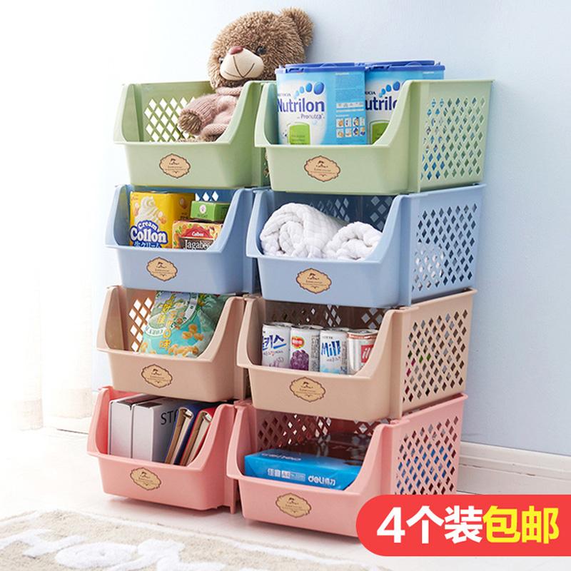 Каждый день специальное предложение может суперпозиция пластик хранение корзина игрушка нулю еда корзина кухня овощной фрукты хранение коробка стенды корзина