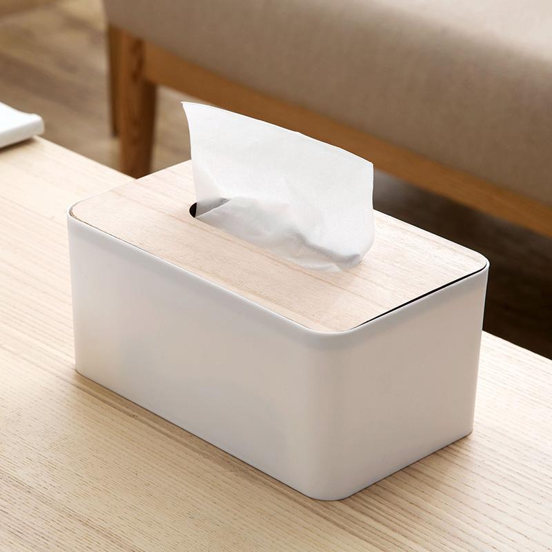 Домой домой дерево крышка ткань гостиная творческий бумага привлечь коробка домой континентальный простой еда полотенце кассета насосные коробка