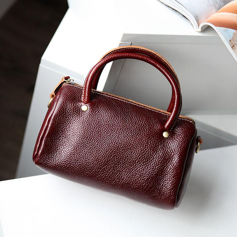 Mini head leather womens bag special price leather womens bag handbag small bag ladys Messenger Bag Mini womens bag