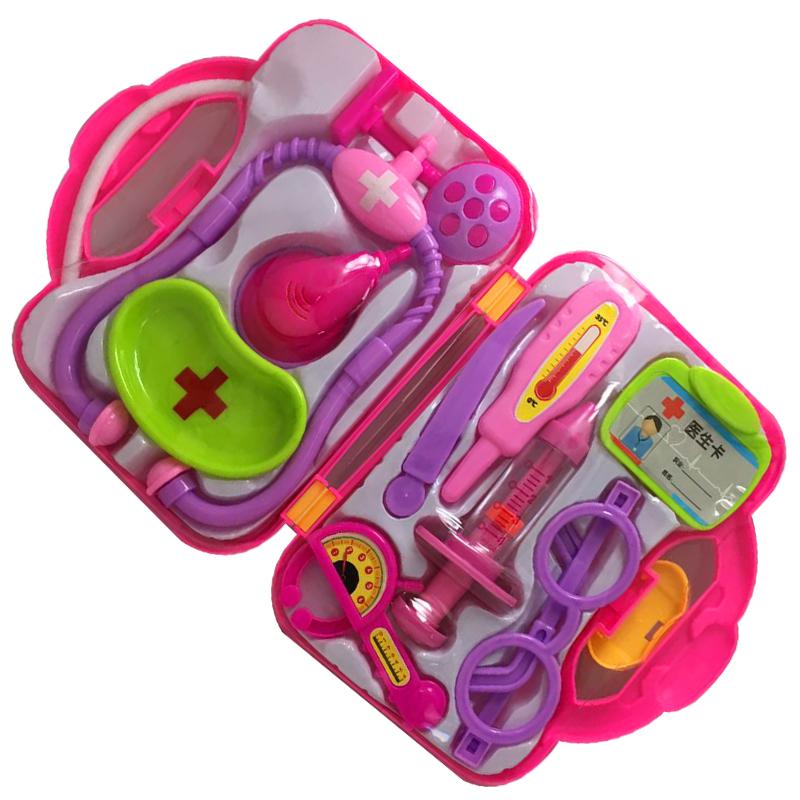 正版虹猫蓝兔医疗箱护理器听诊器儿童过家家护士医生角色扮演玩具