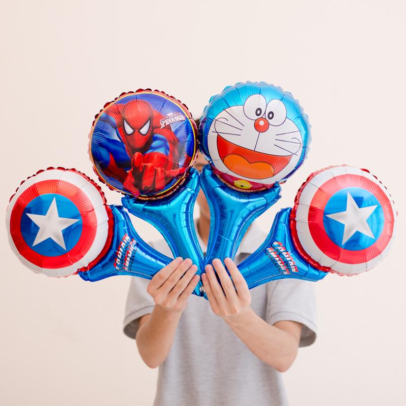 (用0.8元券)儿童生日派对装饰布置铝膜气球