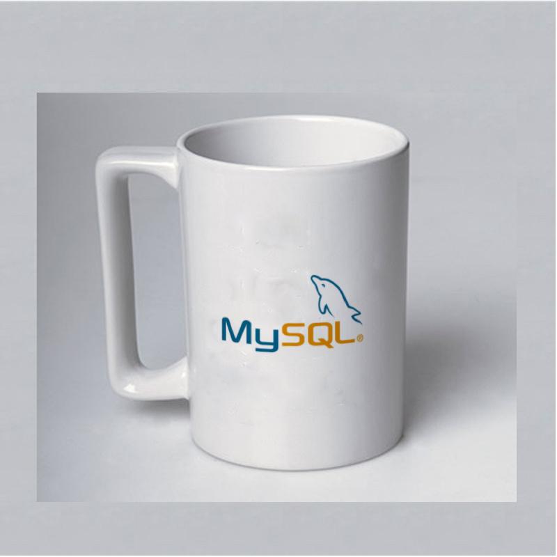 程序员礼物周边MySQL杯子码农黑客geek代码IT周边生日mariadb神器