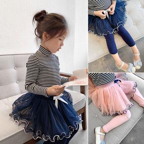 美仙仙的小公主 女童纱裙打底裤 网纱蓬蓬裙 儿童外穿长裤裙裤
