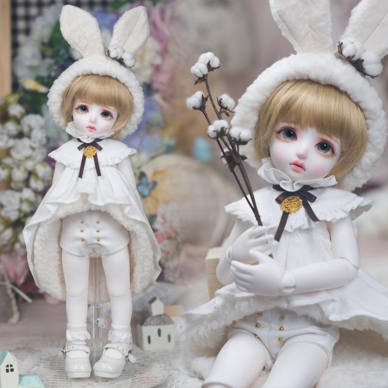 BJD娃衣AMORS洋装洋服套装SD娃娃6分尺寸娃娃衣服棉花兔光希授权