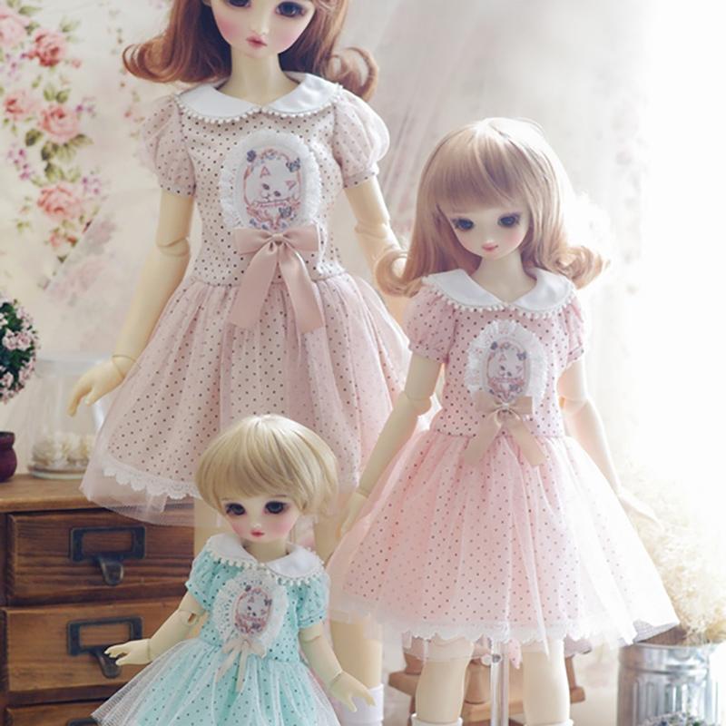AMORS套装BJD日常洋装洋服SD娃娃衣服连衣裙1/346分小乖物语现货