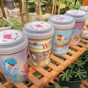 开心农场diy儿童种植礼物创意迷你植物幼儿园可爱小盆栽微景观