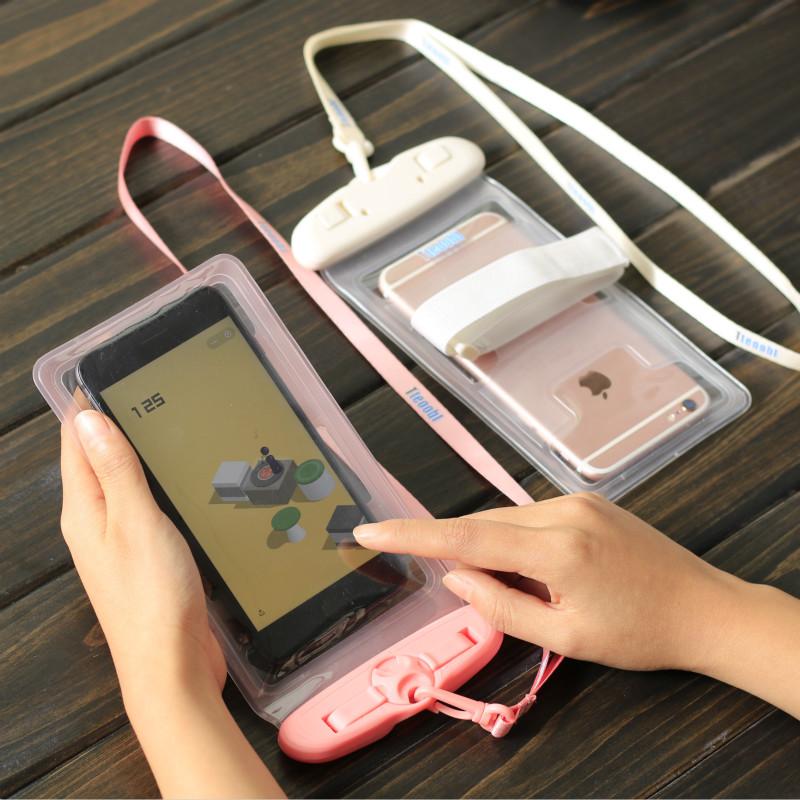 温泉手机防水袋潜水套触屏游泳vivo通用iphone壳华为oppo苹果plus