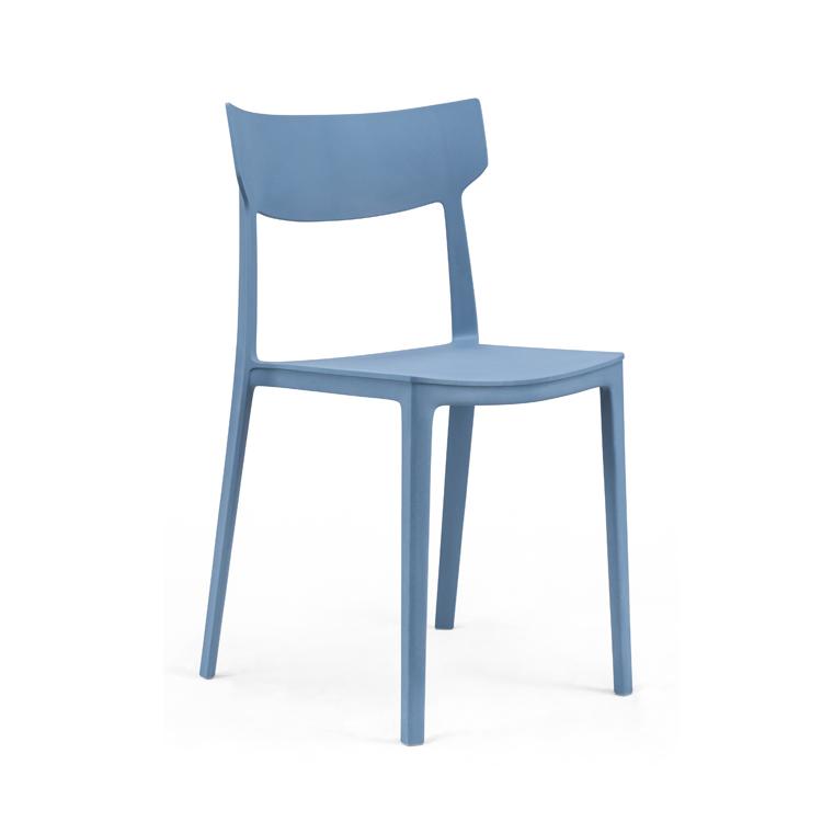 现代简约塑料椅子加厚时尚休闲椅家用靠背椅办公室会议洽谈椅包邮