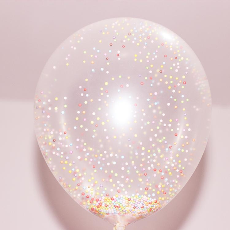 爆款魔力泡沫气球结婚庆布置透明亮片气球微商地推儿童生日会气球