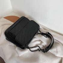 新款潮韩版秋冬时尚链条单肩手提斜挎包百搭托特包大包2018包包女