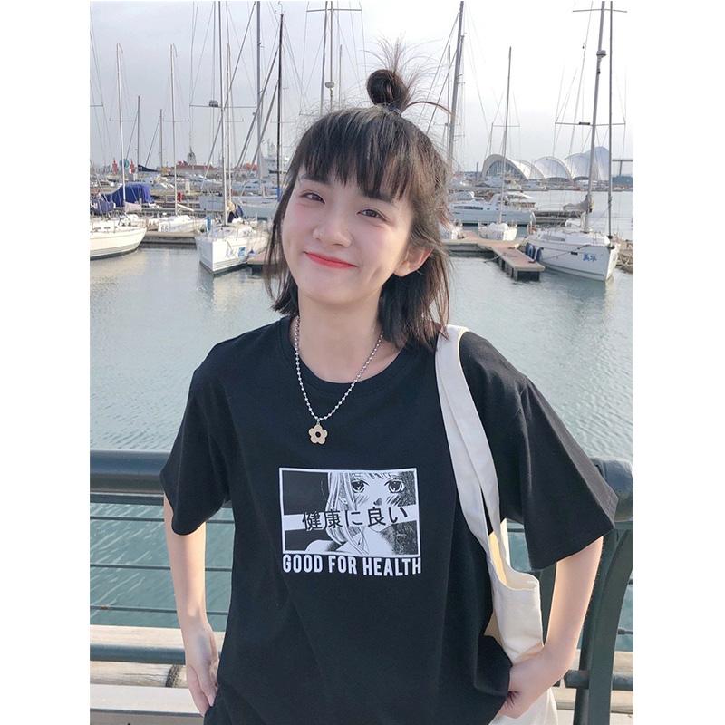 【现货】忠犬小八梨形自制-日漫书--青春动漫卡通胶印T恤女短袖夏