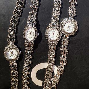 泰银款式女表复古女表手链式手表学生手表装饰表女时尚女表带钻潮