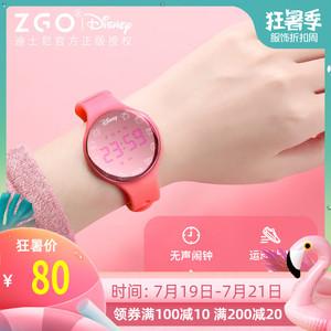 领30元券购买迪士尼米奇儿童女孩电子运动手表