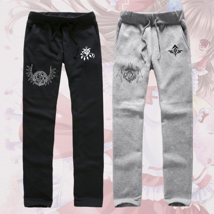 ASSASSYN 东方project裤子 琪露诺 东方幻想乡动漫卫裤长裤