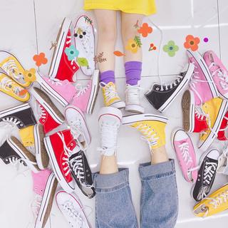 Обувь для родителей и детей,  7bao новый отцовство холст обувь корейский мальчиков и девочек, дикий кружево цвет спортивный досуг обувной мать и дочь мать и дитя обувной, цена 441 руб