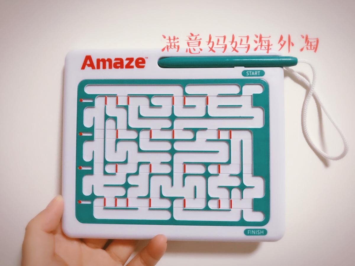 美国thinkfun运笔迷宫3D立体Amaze儿童智力玩具掌上迷宫大人也爱
