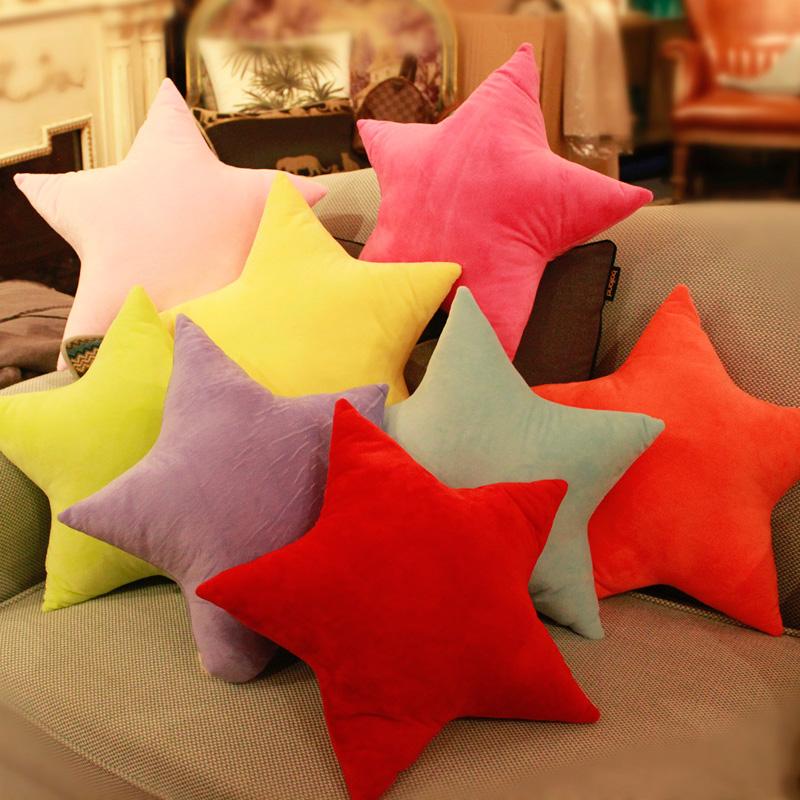 Сердце плюш игрушка любовь подушка руководитель может любовь звезда подушка пятиконечная звезда ложиться спать подушка день рождения подарок девочки