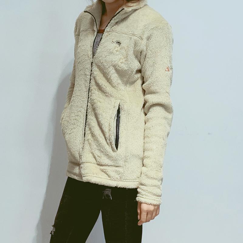 暴走考拉 男女款Polartec毛猴长绒强保暖透气抓绒拉链外套