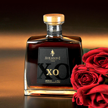 送礼盒套装700ml伯爵城堡婚宴烈酒度40酒brandy洋酒白兰地XO法国