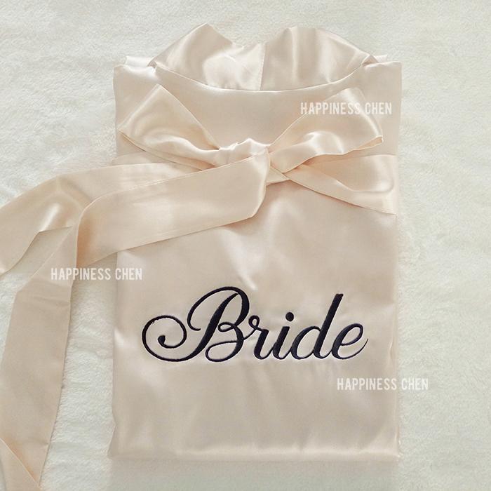 Чэн счастье рука работа свадьба шампанское порошок. горячее бурение вышивка невеста / подружка невесты свадьба составить утро платье