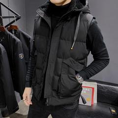電商A047-MJ88-P115 棉背心連帽(可脫卸)大碼外套保暖加厚棉衣
