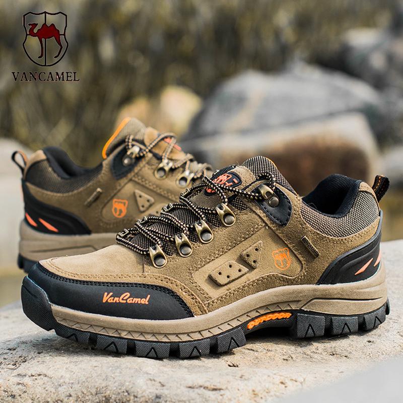 西域 骆驼男鞋登山鞋男正品户外男鞋夏季防水防滑耐磨男士徒步鞋