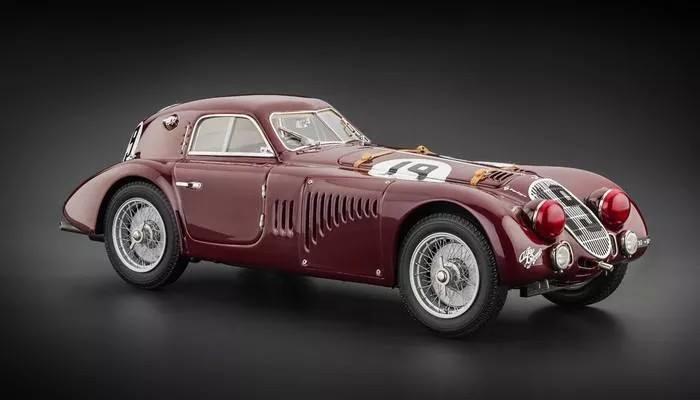 全新原包  CMC 1:18 1938年 阿尔法罗密欧 8C 2900B 限量版跑车