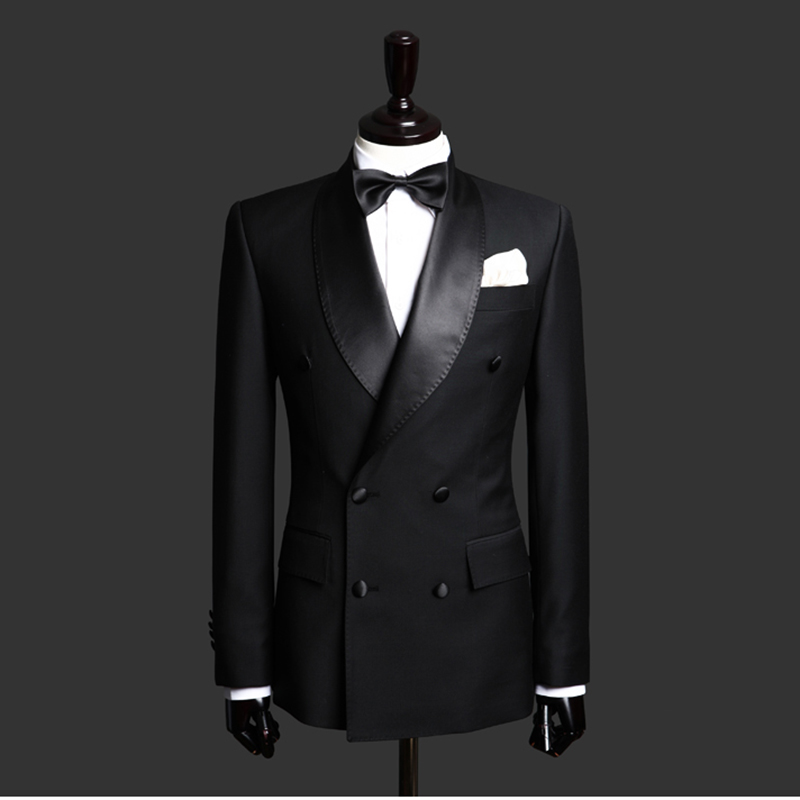 Shanghai entity suit custom made mens suit business dress custom made Chinese style formal dress