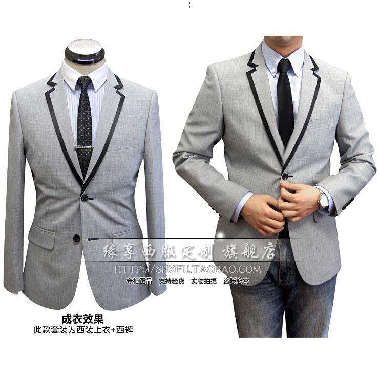 Suit coat mens custom suit mens high end lecturer host custom suit wedding Chinese wedding dress mens