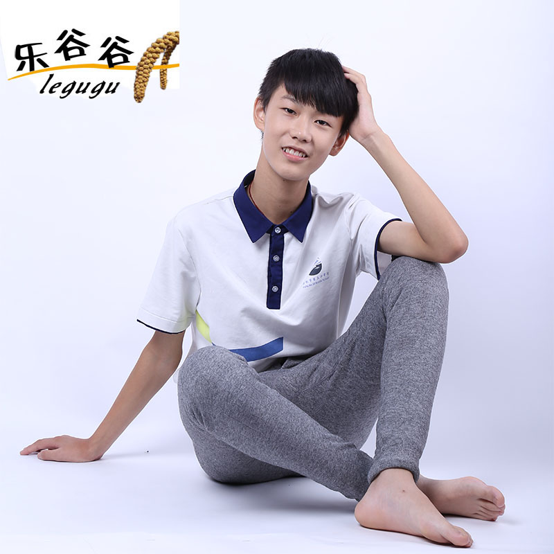 Youth wool pants middle school students cotton wool pants wool pants high school students cashmere pants warm pants mens winter