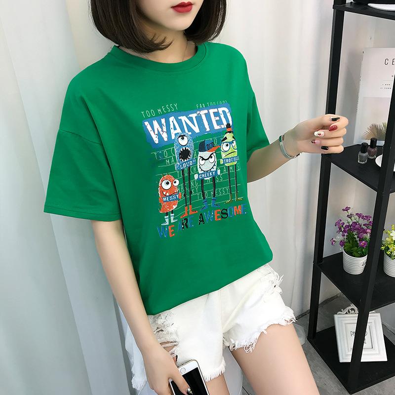 T恤小蚊子韩版时尚女装店铺新款小仙女��上衣学生森女系校服风潮