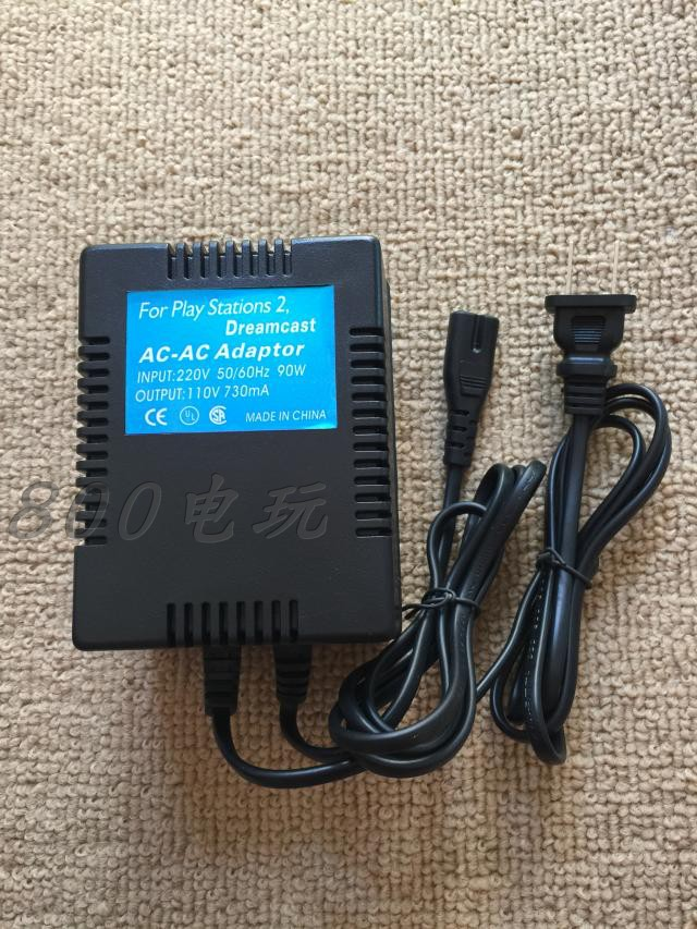 PS2 厚机电源 220V-110V 1-3-5万 变压器 PS1 DC SS 都通用