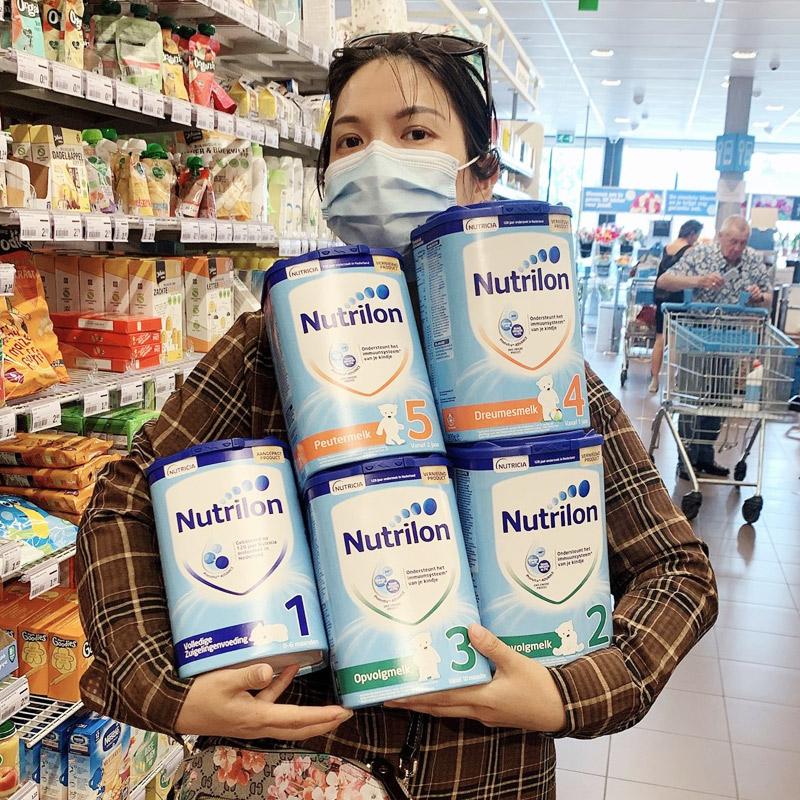 新版荷兰代购nutrilon段婴幼儿奶粉