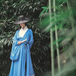 弄潮记明制道袍传统汉服【浮生明代大袖长衫男女通穿春夏多色