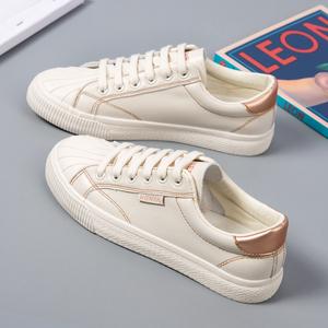 小白鞋女鞋子2020年新款百搭秋季爆款平底贝壳鞋板鞋ins街拍潮鞋