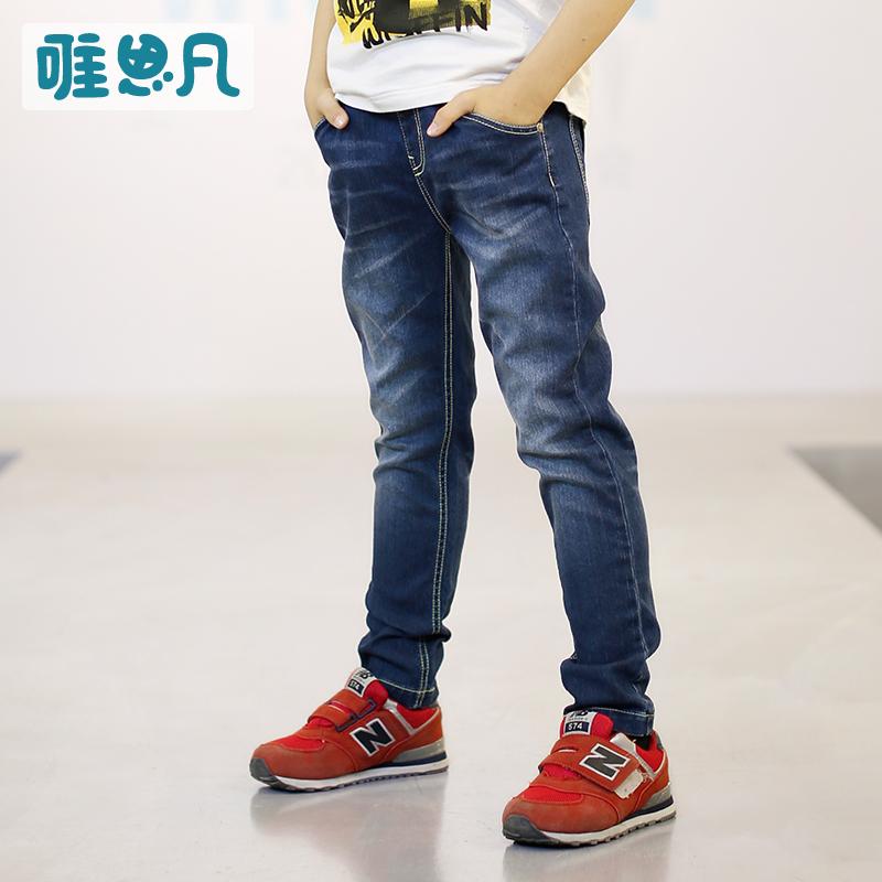 唯思凡兒童 牛仔牛仔褲