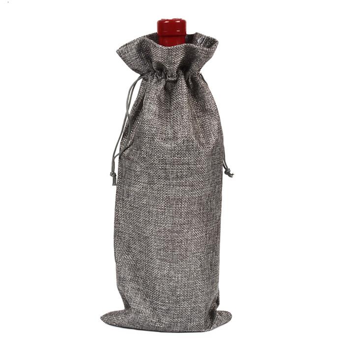 麻布酒瓶套 红酒袋 香槟盲品袋 圣诞礼品包装袋 Wine Bottle Bags
