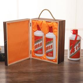 酒盒茅台镇飞天木质白酒包装木盒