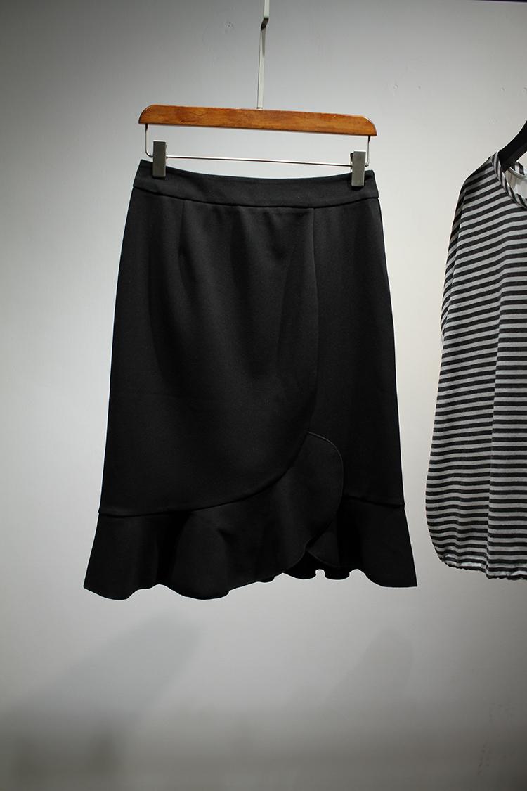 千呼万唤美人款 优雅美人鱼 CHAO显线条 提臀显瘦半裙