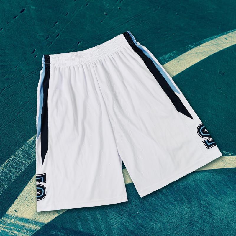 SD日落东单街头篮球裤定制湘北篮球短裤街球男运动训练热身运动裤