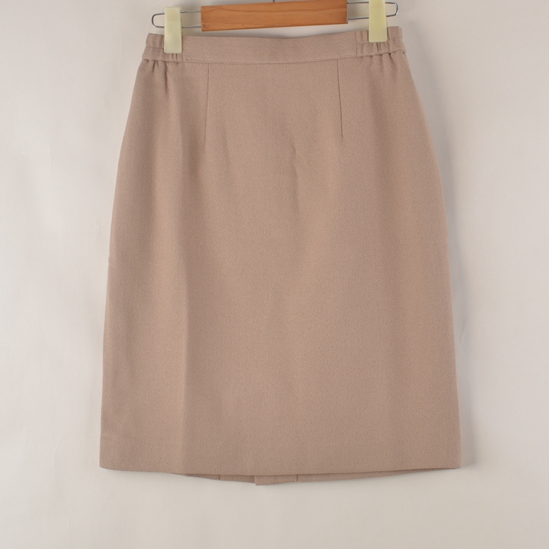 Vintage spring and summer womens skirt Vintage solid ol short skirt versatile slim wrap hip suit skirt