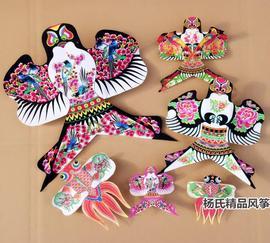 观赏展示沙燕风筝潍坊传统特色*家居商场幼儿园装饰*道具小型沙燕