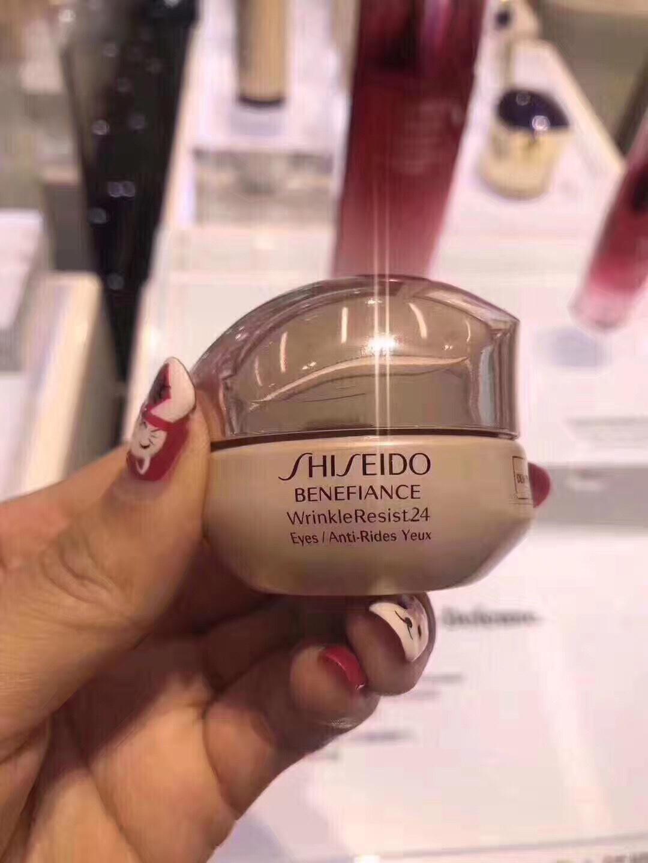 日本Shiseido资生堂盼丽风姿抗皱眼霜15ml 滋润保湿淡纹眼部包邮10月25日最新优惠