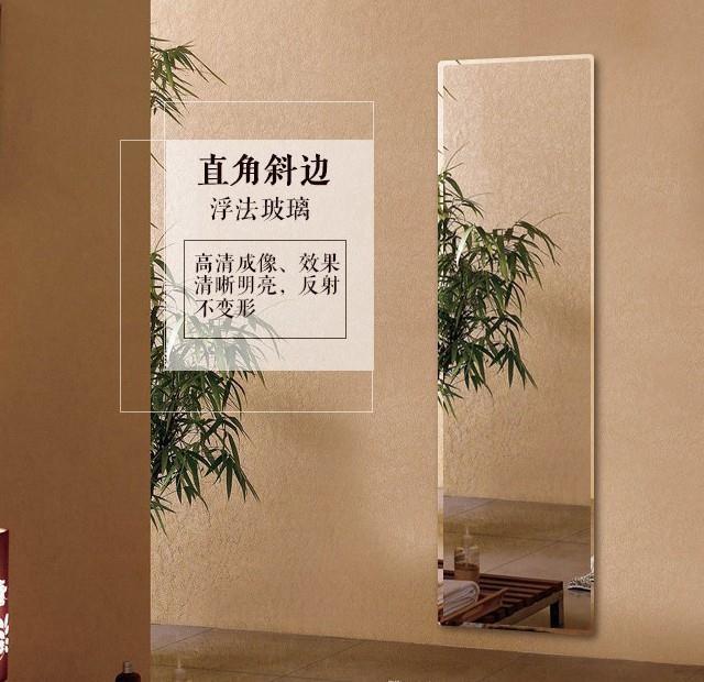 优美全身穿衣镜子挂墙上的家用学