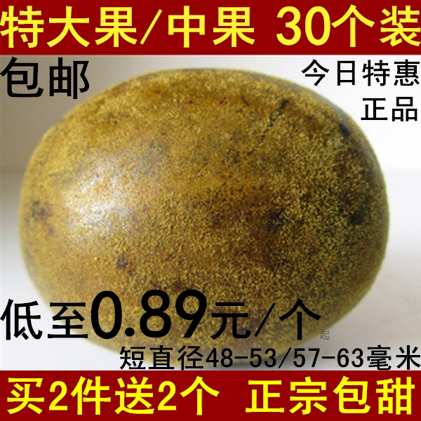 正宗罗汉果 特大果/中果30个装 广西特产 桂林永福 罗汉果茶 正品