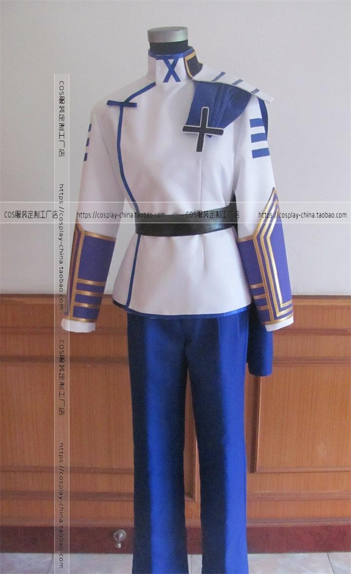 Cosplay cartoon clothing basara2 bamboo half soldier guard cos clothing